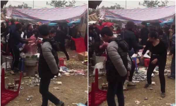 Hà Nội: Thanh niên bị truy sát trọng thương trước cổng chùa