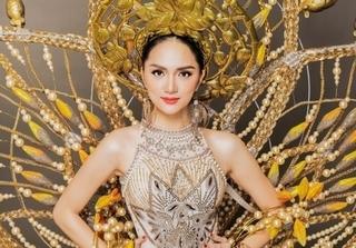 Cận cảnh trang phục của Hương Giang tại Hoa hậu Chuyển giới Quốc tế 2018