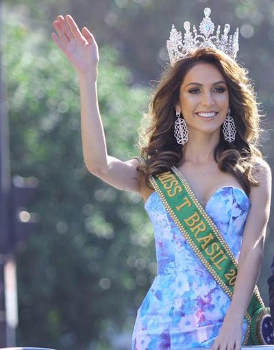 Nhan sắc không tì vết của thí sinh Hoa hậu chuyển giới Brazil
