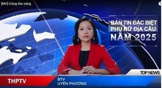 Nữ doanh nhân Trần Uyên Phương bất ngờ làm biên tập viên truyền hình