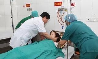 Hải Dương: Bác sỹ, điều dưỡng hiến máu cứu sống sản phụ bị vỡ tử cung