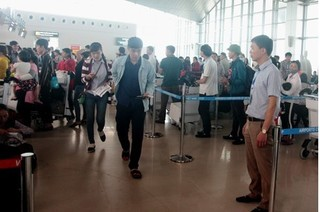 Sau sự cố để thanh đột nhập lên máy bay, sân bay Vinh tăng cường an ninh