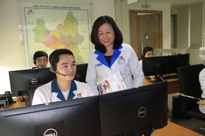 chăm sóc sức khỏe từ xa qua tổng đài TeleHealth Center 24/7 – Trung tâm dịch vụ y tế online