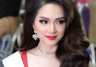Hương Giang đẹp rạng ngời trước Chung kết Hoa hậu Chuyển giới Quốc tế 2018