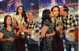 Mẹ Hương Giang nói gì khi con gái đăng quang Hoa hậu Chuyển giới Quốc tế 2018?