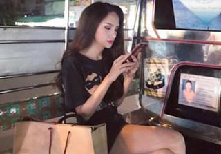 Hình ảnh mới nhất của Hương Giang Idol sau khi đăng quang HH Chuyển giới Quốc tế