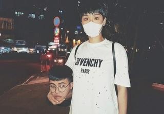 Ăn theo trào lưu ôm thủ cấp của Gucci, Miu Lê và Duy Khánh khiến fan 'khóc thét'