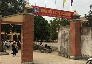 Thanh Hóa: Học sinh lớp 1 tử vong bất thường trên lớp học