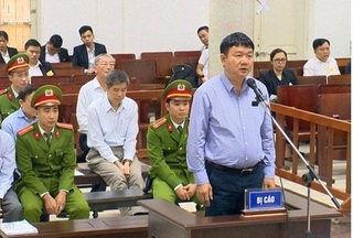Bị cáo Đinh La Thăng khẳng định không vi phạm khi góp vốn Oceanbank?