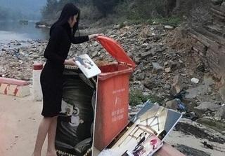 Tốn cả chục triệu chụp ảnh cưới, cuối cùng vẫn đem bỏ thùng rác