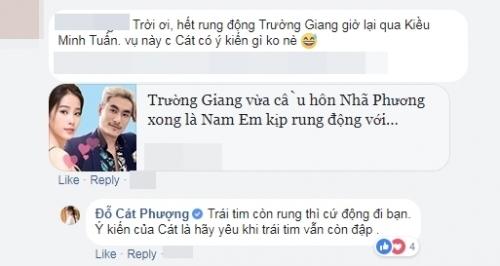 Phản ứng của Cát Phượng khi Nam Em công khai yêu Đào Minh Tuấn