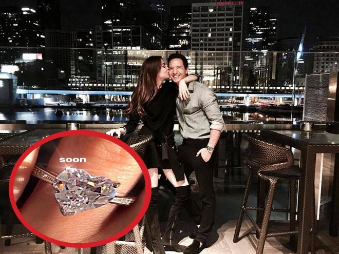 Hồ Ngọc Hà khoe nhẫn kim cương, chuẩn bị làm đám cưới với Kim Lý?