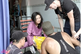 Đóng cảnh hành động, Ngô Thanh Vân bị nứt xương đầu gối