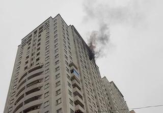 Hà Nội: Cháy lớn ở chung cư khu đô thị Văn Khê, Hà Đông