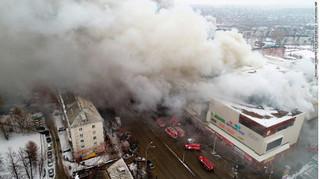 Cháy lớn ở trung tâm thương mại Nga, 37 người thiệt mạng