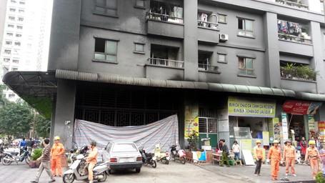 Hà Nội: 17 chung cư không thể khắc phục vi phạm về PCCC