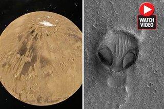 Gương mặt khổng lồ xuất hiện trên sao Hỏa khiến khoa học xôn xao