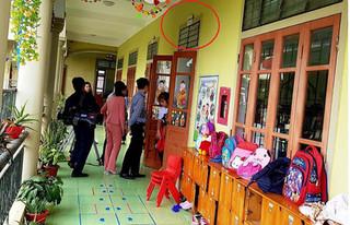 Vụ giáo viên bị phụ huynh đánh đến động thai: Trẻ tím chân do chơi đu quay