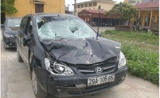 Ô tô chủ tịch xã gây tai nạn khiến 4 học sinh thương vong rồi bỏ trốn