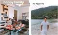 Kim Lý hộ tống bố mẹ Hà Hồ đi nghỉ ở Đà Nẵng