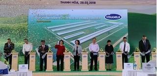 Khánh thành Trang trại số 1 thuộc Tổ hợp trang trại bò sữa công nghệ cao Vinamilk Thanh Hóa