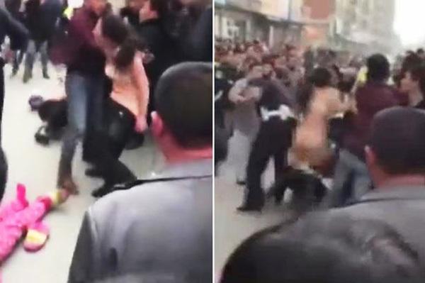 Nữ đạo chích hiên ngang khỏa thân giữa phố để thách thức cảnh sát