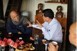 Nhà thơ Lưu Trọng Văn: Sau 49 ngày nhịn ăn, không chỉ Đặng Lê Nguyên Vũ mà tôi cũng thay đổi rất nhiều
