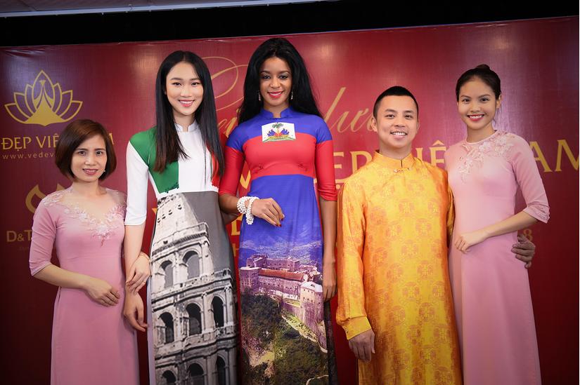 NTK Đỗ Trịnh Hoài Nam thiết kế áo dài 1triệu USD đem tới LHP Cannes