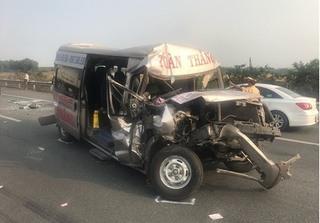 Một người chấn thương sọ não sau tai nạn trên cao tốc Long Thành - Dầu Giây