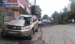 Vụ đánh lái thần thánh cứu 2 cô gái: Chủ xe Toyota không hạ mức bồi thường