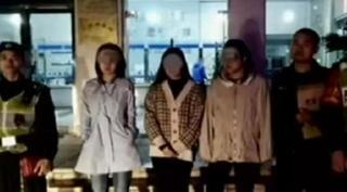 Bi hài trai đẹp đang đi với người yêu thì bị 3 cô gái trẻ bắt cóc