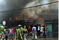 Hỏa hoạn nghiêm trọng tại trung tâm đô thị Mỹ Tho, nhiều nhà dân bị thiêu rụi