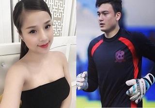 Thủ môn Văn Lâm khiến nhiều chị em 'vỡ mộng' vì đã có bạn gái xinh đẹp