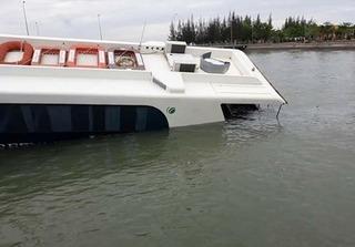 Chìm tàu cao tốc Cần Giờ, hàng chục người hoảng loạn