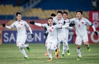 Bộ ba cầu thủ U23 Việt Nam góp mặt trong Đội hình tiêu biểu của bóng đá Đông Nam Á