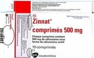 Phát hiện thuốc kháng sinh Zinnat 500 mg giả tại Hà Nội