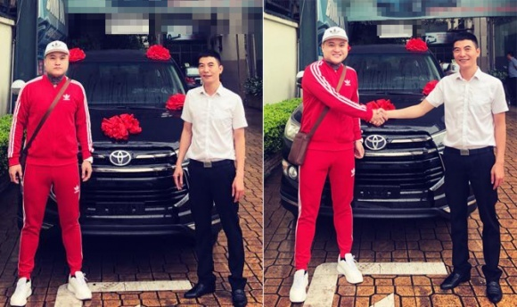 Ca sĩ Vũ Duy Khánh tậu xe 1tỷ để đi cho đỡ mệt