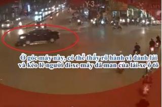 Độc quyền 2: Clip mới chỉ rõ hành vi dã man của lái xe ô tô kéo lê xe máy ở ngã 6 Ô Chợ Dừa