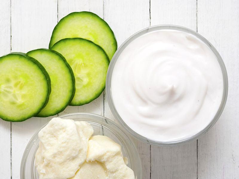 Mặt nạ kết hợp với sữa chua giúp làn da luôn trắng sáng, mịn màng2