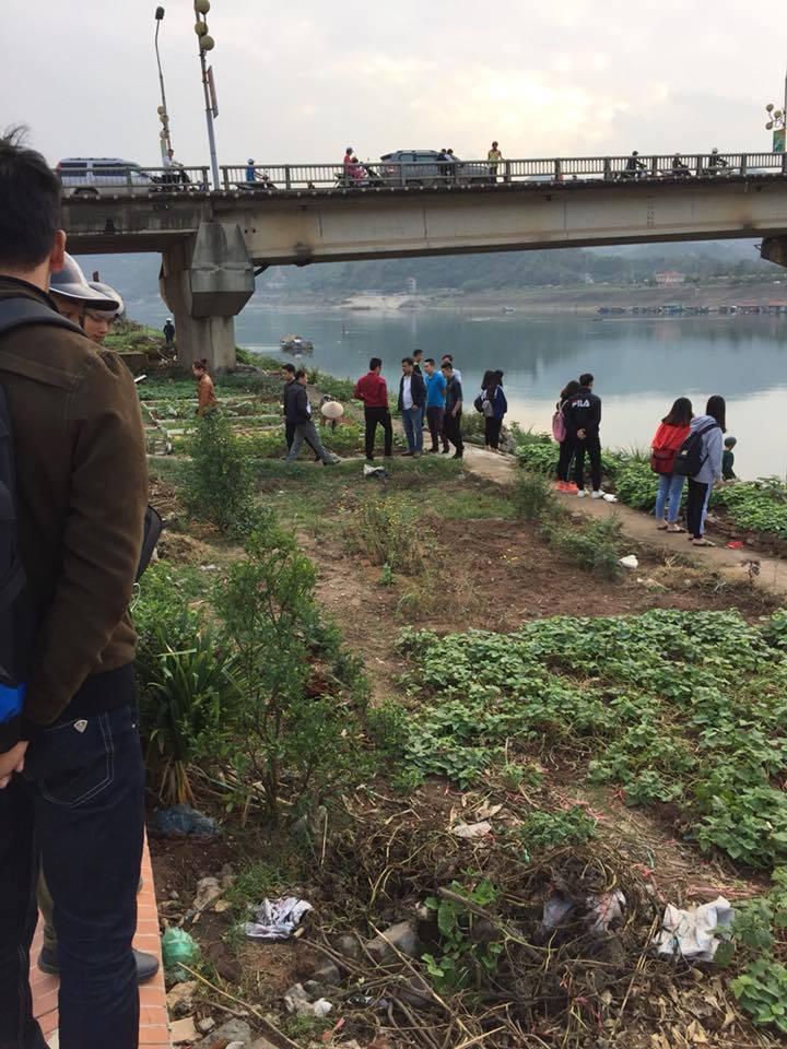 Phát hiện nam thanh niên nhảy xuống Sông Đà tử vong ở Hòa Bình