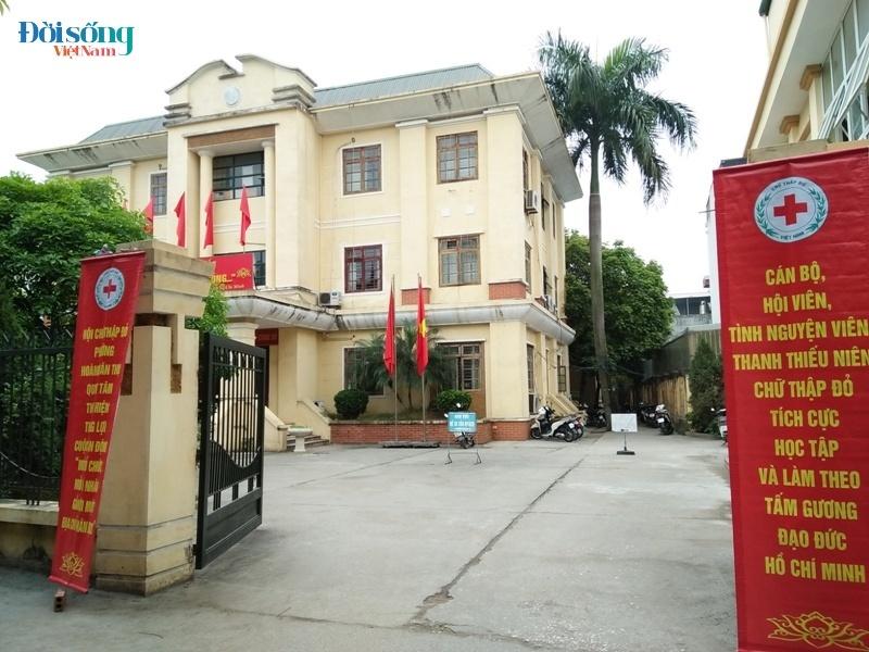 Trụ sở UBND Phường Hoàng Văn Thụ