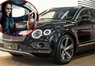 Lộ diện hot girl xinh đẹp trên chiếc SUV sang Bentley Bentayga 21 tỷ đồng