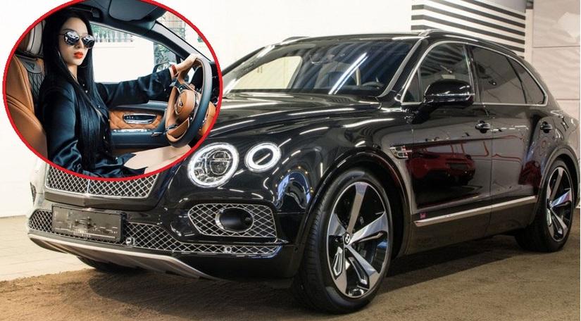 Hot girl xinh đẹp trên chiếc SUV sang Bentley Bentayga 21 tỷ 3