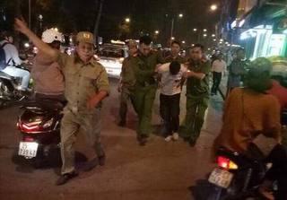 Bắt nóng nghi phạm cướp tiệm vàng ở Hà Nội trong đêm
