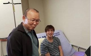 HLV Park Hang Seo quay về Hàn thăm Tuấn Anh cùng lời hứa ấm áp