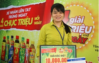 Hàng nghìn khách hàng trúng thưởng khi uống nước giải khát của Tân Hiệp Phát