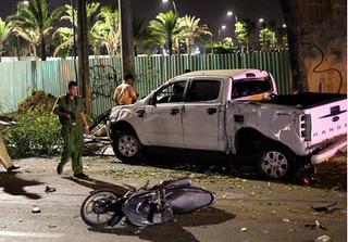 Lời khai của tài xế xe bán tải tông hàng loạt xe dừng đèn đỏ khiến 2 người chết