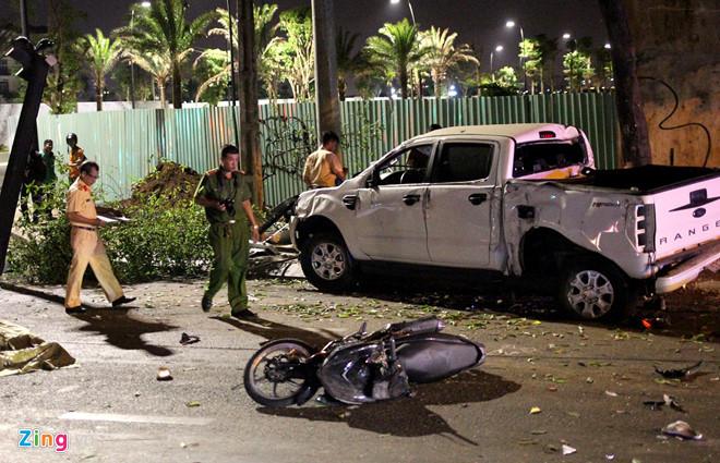 Lời khai của tài xế xe bán tải tông hàng loạt xe dừng đèn đỏ