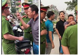Lãnh đạo phường lên tiếng việc không xử phạt hai cha con lăng mạ công an giữa Thủ đô