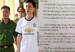 BS Hoàng Công Lương viết tâm thư 'được chắt lọc từ nước mắt, niềm tin' gửi Tổng Bí thư